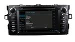 Штатная магнитола Toyota AURIS 2006-2012 Android 4.0 BX-7010 GPS wi-fi