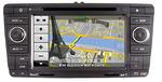 Штатная Skoda Octavia A5 nTray 7972 с GPS