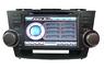 Штатная Toyota Highlander 8 дюйм Flyaudio 8935 3G