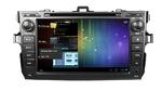 Штатная магнитола Toyota Corolla 2006-2011 Android 4.0 BX-8010 GPS wi-fi