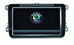 Штатная магнитола Skoda Octavia 8 inch JS-3575 GPS